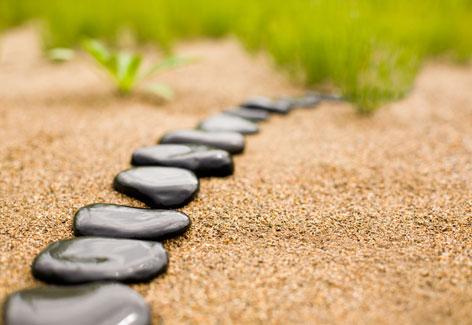 piedras alineadas